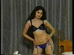 Indian girl window-dressing