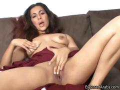 Sexy Arab girl gets horny and pleases part6