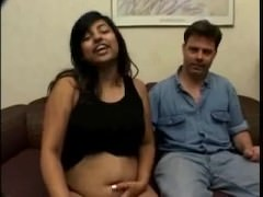 Indian chick to renowned boobies gets fucked by a lacklustre baffle