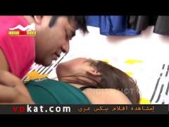 hot short hindi hostel girl young man team up