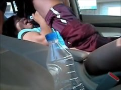 Smart and Hot Northindian Aunty got shagging with the brush BF around a Motor car -Part II