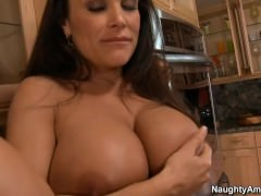 Hot MILF LISA ANN teased the young guy,ready encircling have sex Part 2