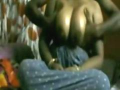 Indian housewife Shilpi getting her chubby heart of hearts pumped together with gives blowjob