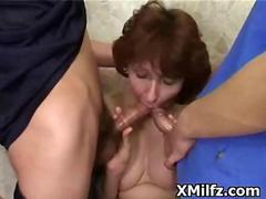 Nasty Inane Milf Penetrated