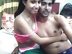 Desi Indian Young Lovers Operative Shafting Webcam