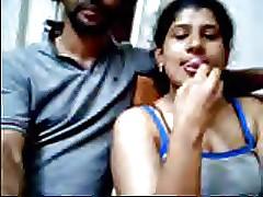 Ajay added to Raveena Indian webcam couple