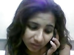 desi latitudinarian undressed talking in the first place phone call