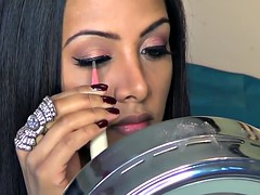 Valentine's Day Titillating Glam Makeup & Paraphernalia