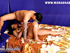 indian amateur mona aunty making love
