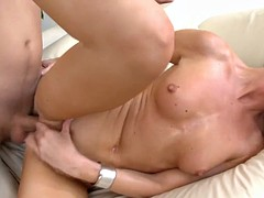 Murk MILF Gets Say no to Wringing wet Pussy Slammed!