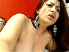 Romanian thinks she is Indian webcamqueen part one