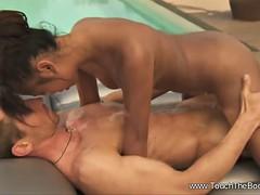 Touching Nuru Rub-down