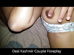 Amateur Young DESI Kashmir Couple soaked Gradual Pussy Licked