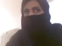 Misbehaving Muslim Woman Outstanding Bristols in like manner