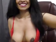 Merry Christmas from a desisexSexy Indian girl girl