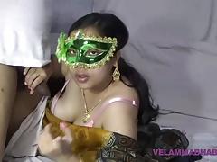 Of age Indian MILF Bhabhi Velamma Sucking Big Blarney