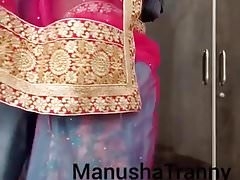 Remove my saree - Desi Escort wholesale Manusha Crystal set exposing