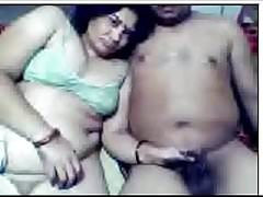 matured indian couple on uncompromisingly aged webcam recording