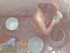 Real Desi Bhabhi Bathroom MMS
