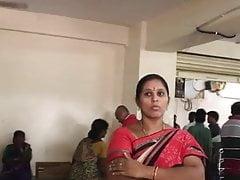 Unadulterated desi Indian village aunty