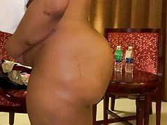 Big boobs malls aunty respecting super shaped beamy with nuisance