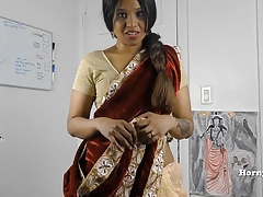 HornySouth Indian sister in law roleplay in Tamil thither subs
