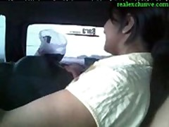 Public car sex indian couple  -