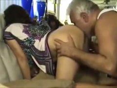 Older Kingpin Fucks & Licks Puristic Indian Coworker Ass