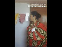 Sexy Grown-up Indian aunt spied hither pass a motion Part 1