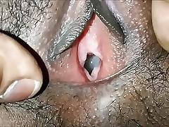 indian gf fucked hard in doggystyle till creampie closeup creampie