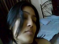 Indian Private college girl sucks with an increment of fuck her younger cousin
