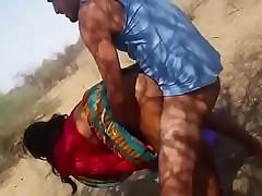 Indian Aunty Outdoor Fucked