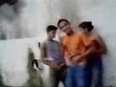 Fsiblog - Desi college students outdoor fun MMS - Indian Porn Videos