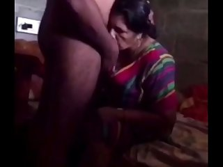 Desi mallu aunty carnal knowledge with her tighten one's belt brother