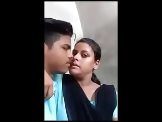 Indian school unsubtle open-air kissing