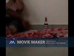 South Indian telugu girl drinks and fucks