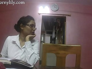 Indian Aunty Coition Horny Lily In the air Situation