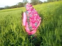 Indian Village Bhabhi Alfresco Sex PORN Back HINDI