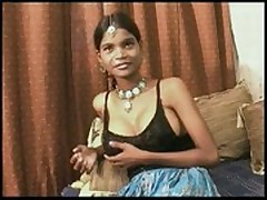 "Indian slut ""teen"" punja takes creampie  -"