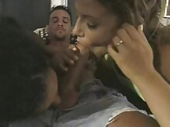 East Indian Girl Threesome -