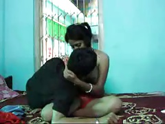 Desi Newly Married Young Wife Acquiring Fucked